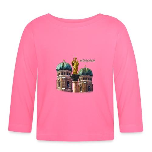 München Frauenkirche - Baby Langarmshirt