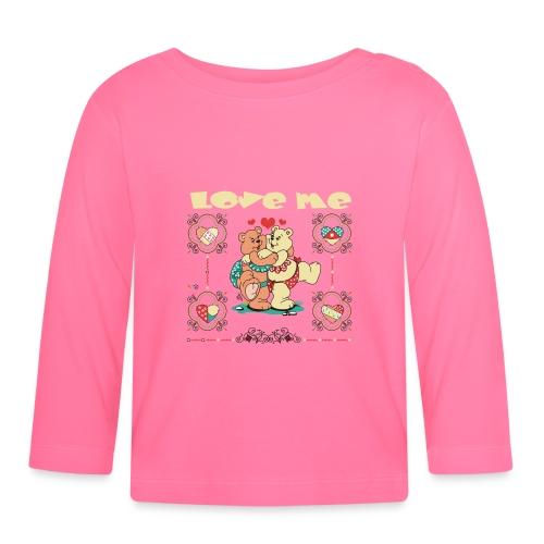 Ositos - Camiseta manga larga bebé