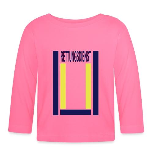 Rettungsdienst Junior Shirt - Baby Langarmshirt