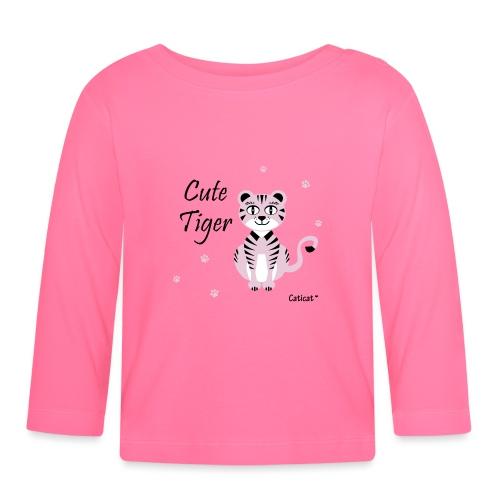 CuteTiger - Baby Langarmshirt