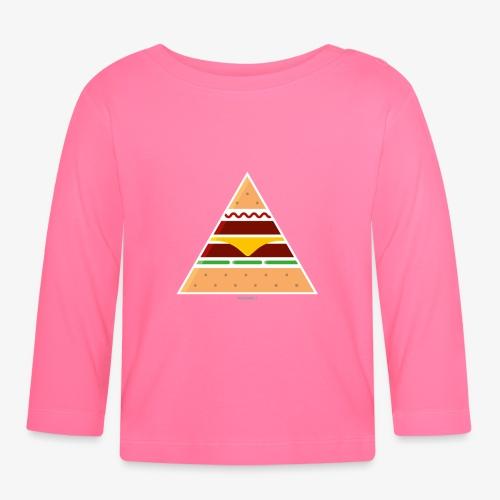 Triangle Burger - Maglietta a manica lunga per bambini