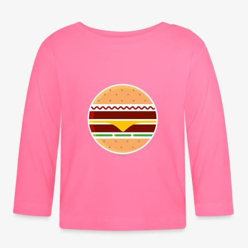Circle Burger - Maglietta a manica lunga per bambini