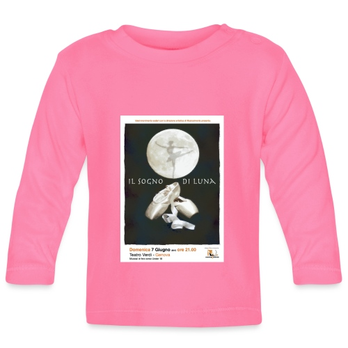 Il Sogno di Luna - Maglietta a manica lunga per bambini
