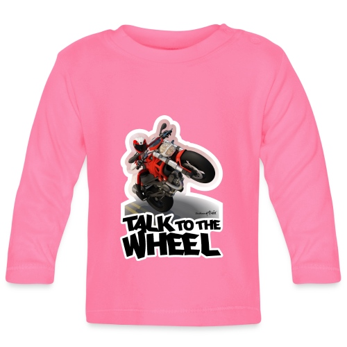 Ducati Monster Wheelie B - Camiseta manga larga bebé