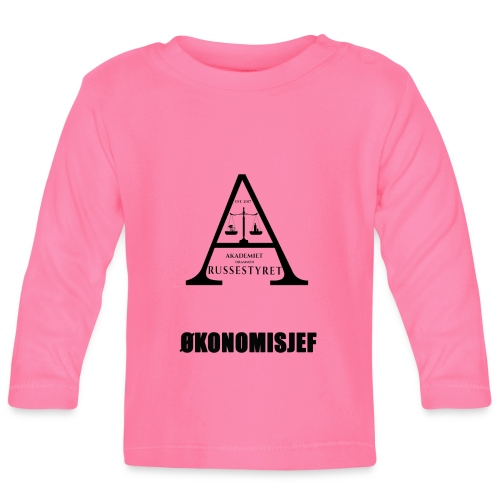 Økonomisjef eks. 2 - Langarmet baby-T-skjorte