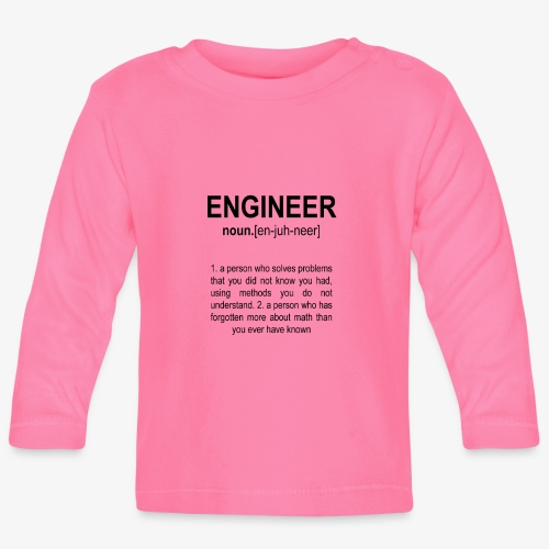 Engineer Def. 2 Black - T-shirt manches longues Bébé