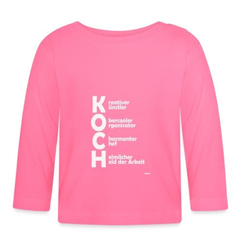 Was macht einen Koch aus? (Premium Shirt) - Baby Langarmshirt