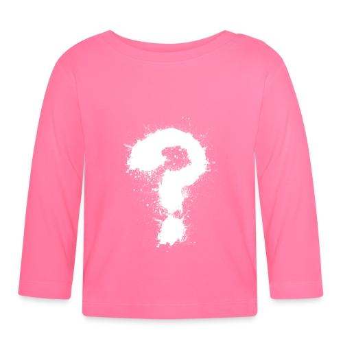 Fragezeichen - Baby Langarmshirt