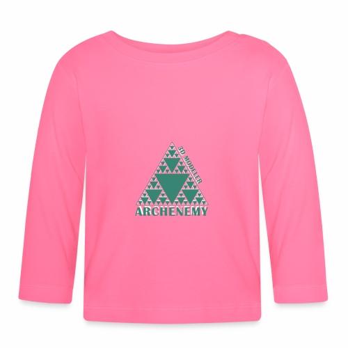 3D modeler Archenemy - Camiseta manga larga bebé