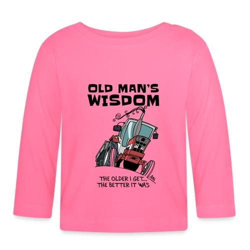 0499 oldmanswisdom IH553 - T-shirt