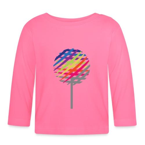 Rainbow Tree - Koszulka niemowlęca z długim rękawem
