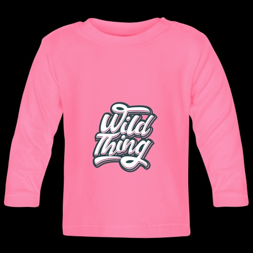 Wild Thing - Baby Langarmshirt