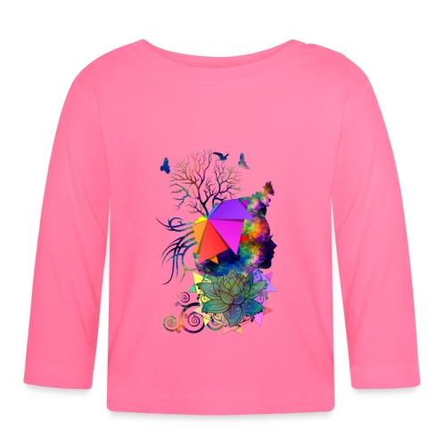 Lady Colors by T-shirt chic et choc - T-shirt manches longues Bébé