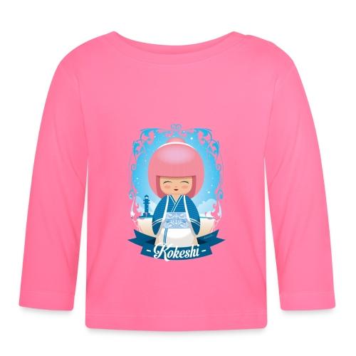Kokeshi mod.4 - Baby Langarmshirt