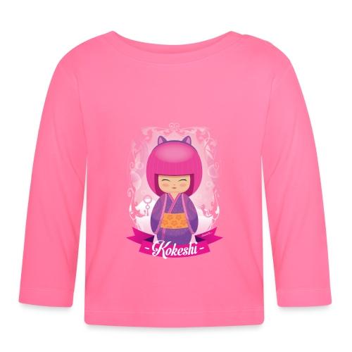 Kokeshi mod.3 - Maglietta a manica lunga per bambini