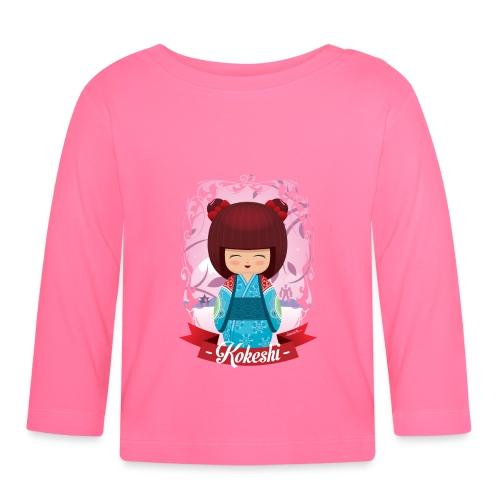 Kokeshi mod.2 - Maglietta a manica lunga per bambini