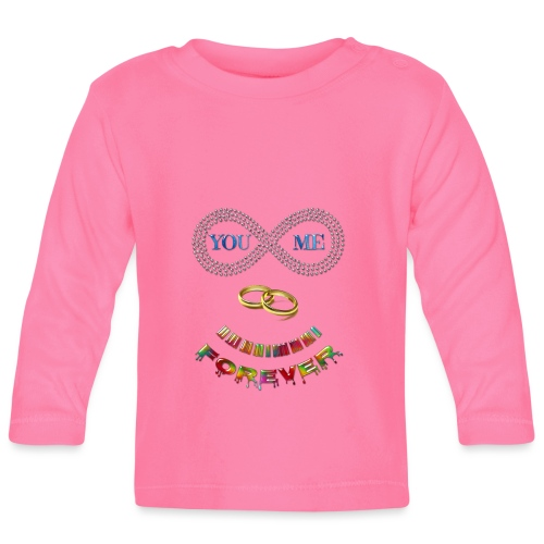 You and me Forever - T-shirt manches longues Bébé