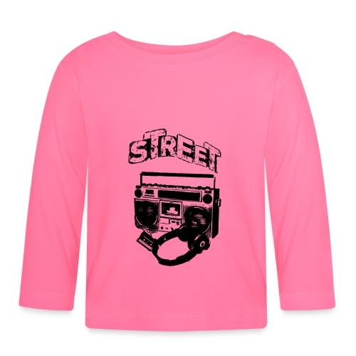 street 1 - Langærmet babyshirt