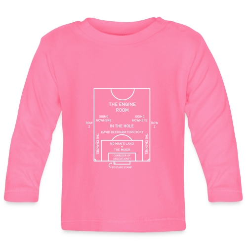 Football Pitch.png - Baby Long Sleeve T-Shirt