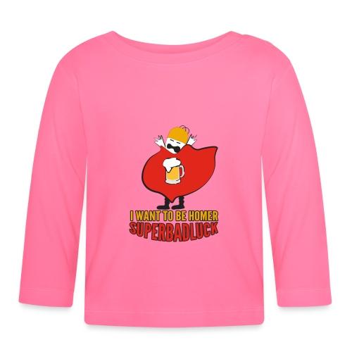 superbadluck - HOMER - Maglietta a manica lunga per bambini