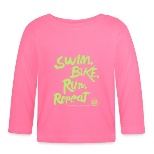 Swim. Bike. Run. Repeat - Maglietta a manica lunga per bambini
