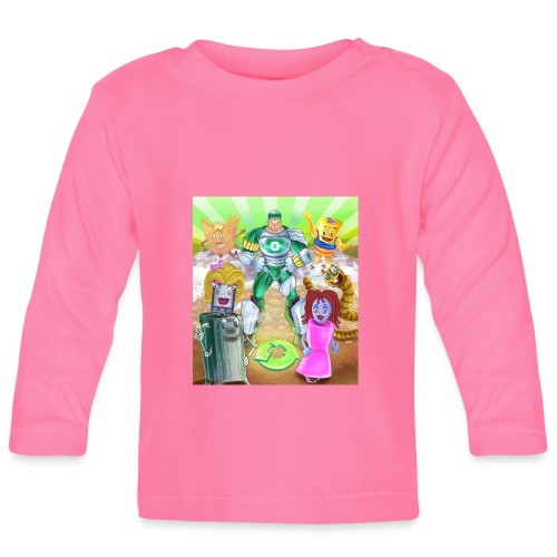 Captain Reece Icle - Baby Long Sleeve T-Shirt