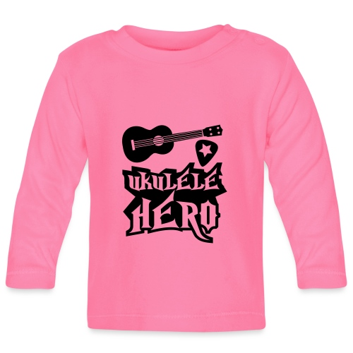 Ukelele Hero - Baby Long Sleeve T-Shirt