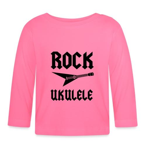 Rock Ukulele T-Shirt - Baby Long Sleeve T-Shirt