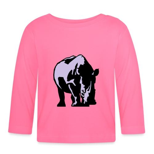 Rhino Stance - Baby Long Sleeve T-Shirt