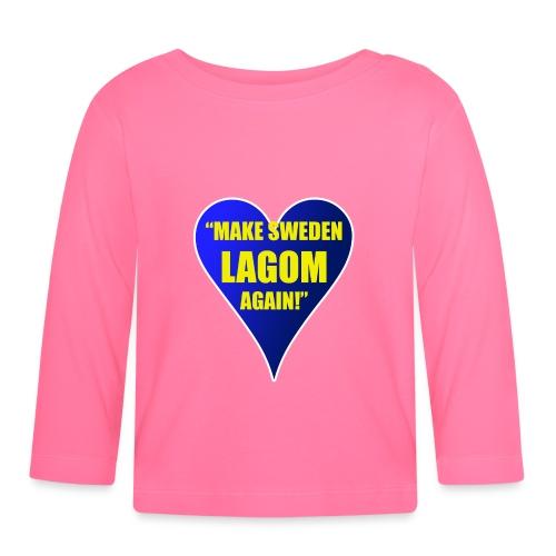 Make Sweden Lagom Again - Långärmad T-shirt baby