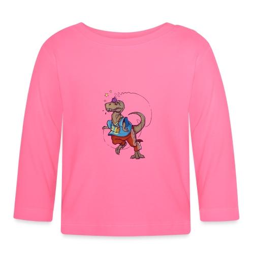 DINO 90 - Koszulka niemowlęca z długim rękawem
