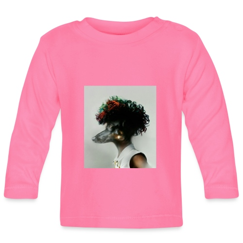 pini punk - Koszulka niemowlęca z długim rękawem