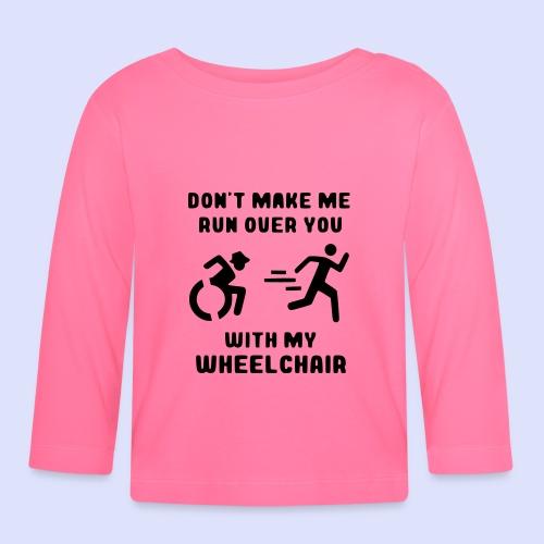 Rolstoel humor 002 - T-shirt