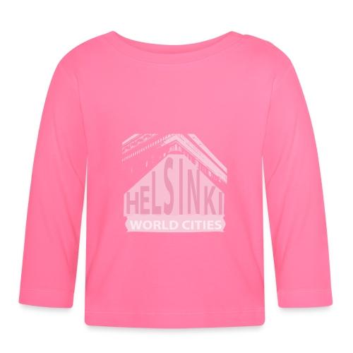 Helsinki light pink - Baby Long Sleeve T-Shirt