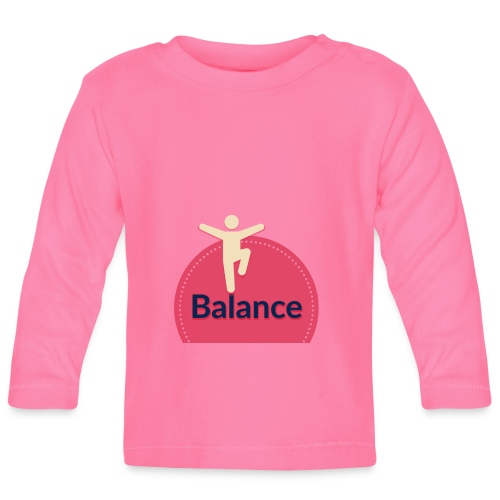Balance red - Baby Long Sleeve T-Shirt