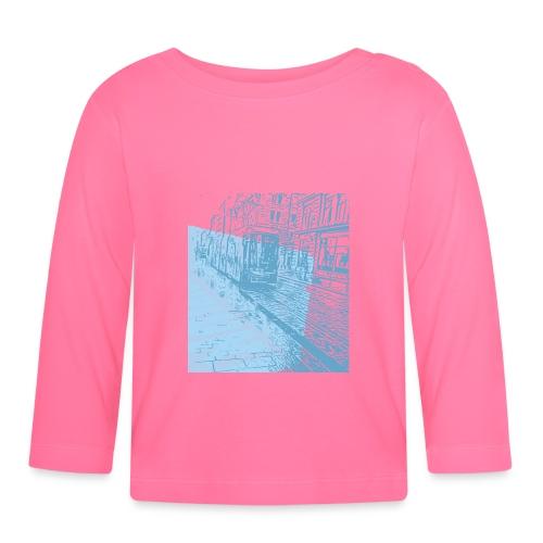 Helsinki Tram Typo - Baby Long Sleeve T-Shirt