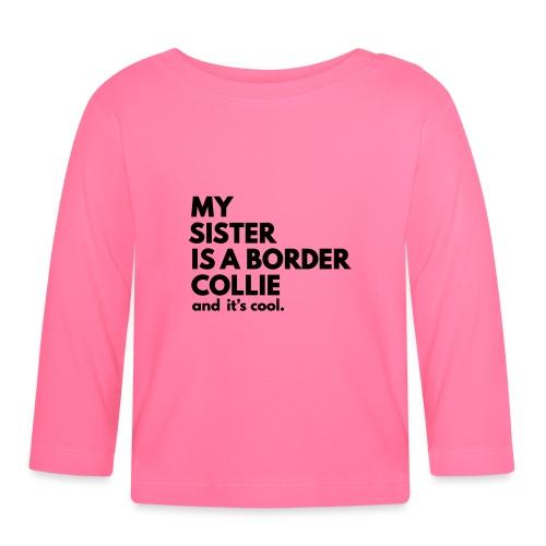 MSB_TEE_SISTER - T-shirt manches longues Bébé