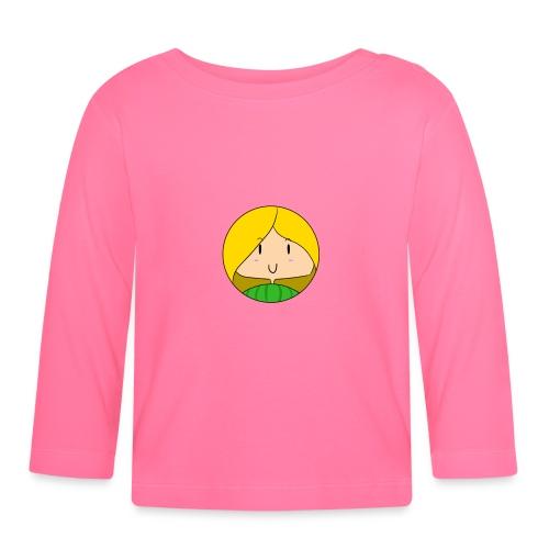 fille blonde - T-shirt manches longues Bébé