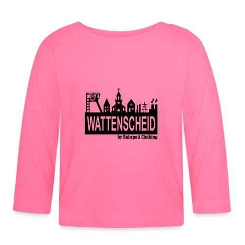 Wattenscheider Skyline by Ruhrpott Clothing - Baby Langarmshirt
