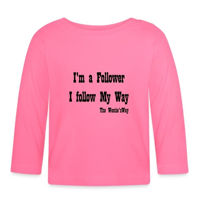 I follow My Way Black