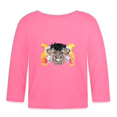 Taurus Bull God - Baby Long Sleeve T-Shirt