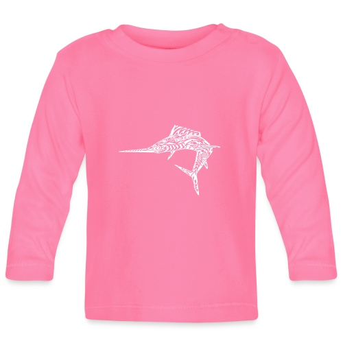 The White Marlin - Baby Long Sleeve T-Shirt