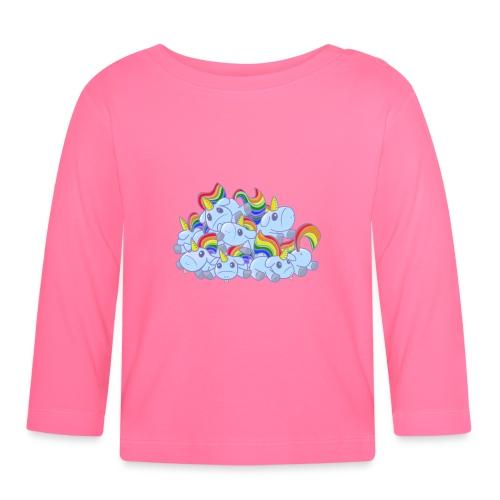 Moar unicorns! - Maglietta a manica lunga per bambini