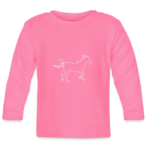 Pferd - Baby Langarmshirt