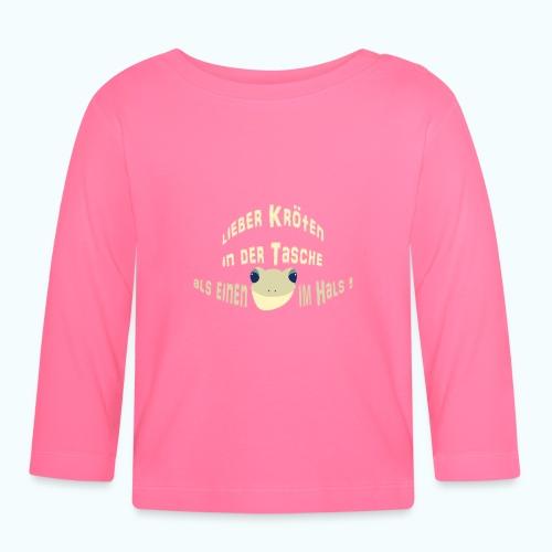 Lieber Kröten in der Tasche - Baby Long Sleeve T-Shirt