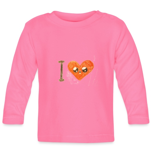 Kids for Kids: heart - Baby Langarmshirt