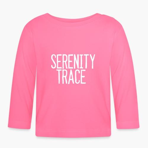 Serenity Trace LOGO W - Langarmet baby-T-skjorte
