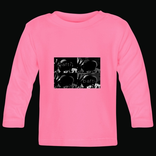 black bafti crew - Langærmet babyshirt
