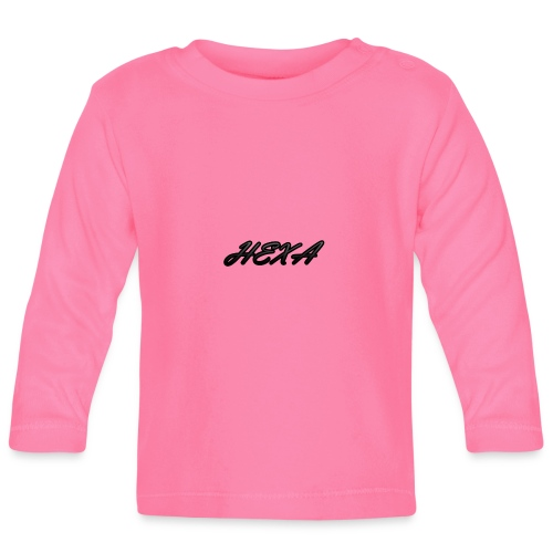 HexaDesignBlackLogo - Baby Long Sleeve T-Shirt
