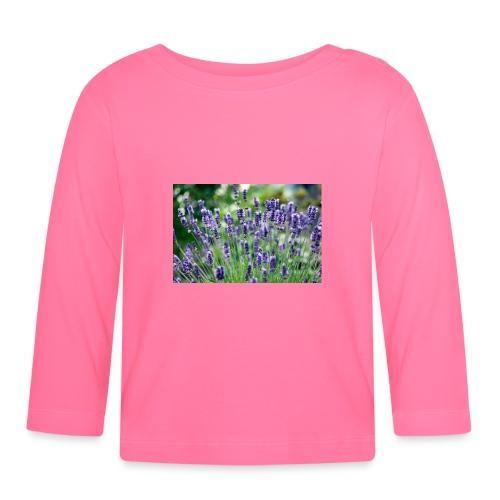 Lavendler - Langærmet babyshirt
